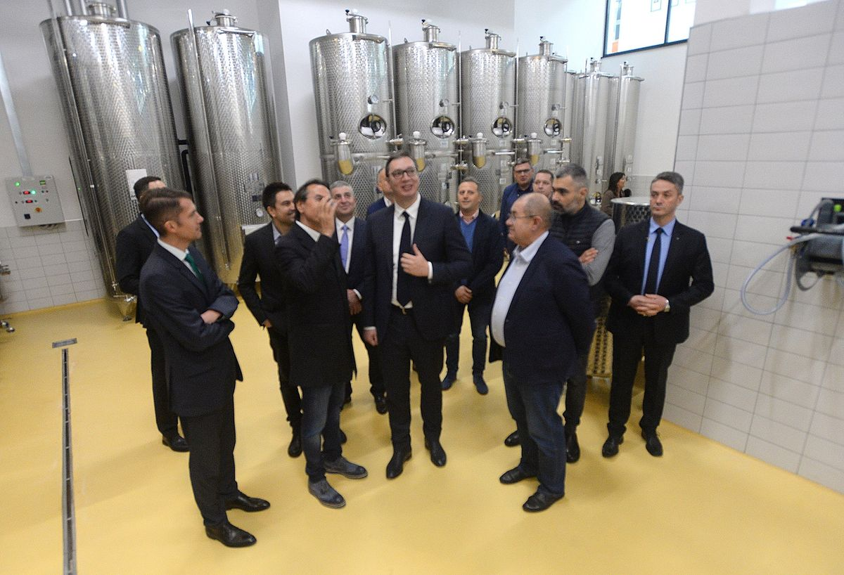 Predsednik Vučić obišao