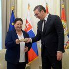 Опроштајна посета амбасадорке Словачке Републике