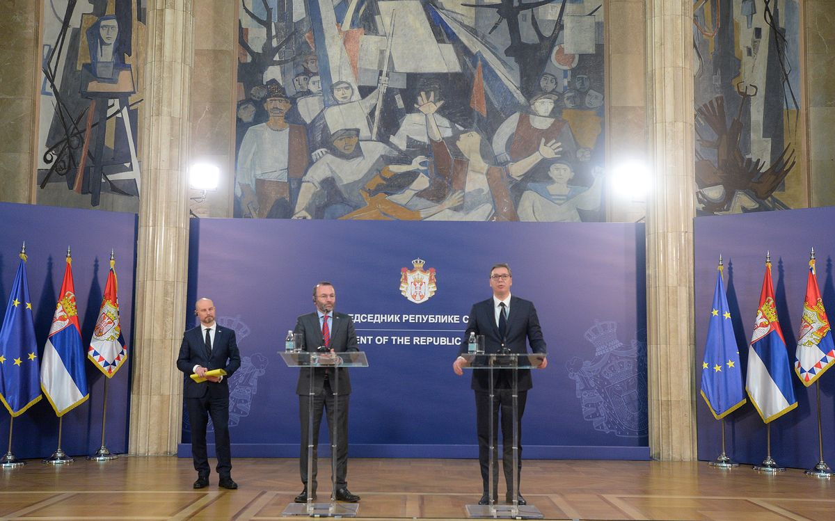 President Vučić meets the delegation of the European Parliament