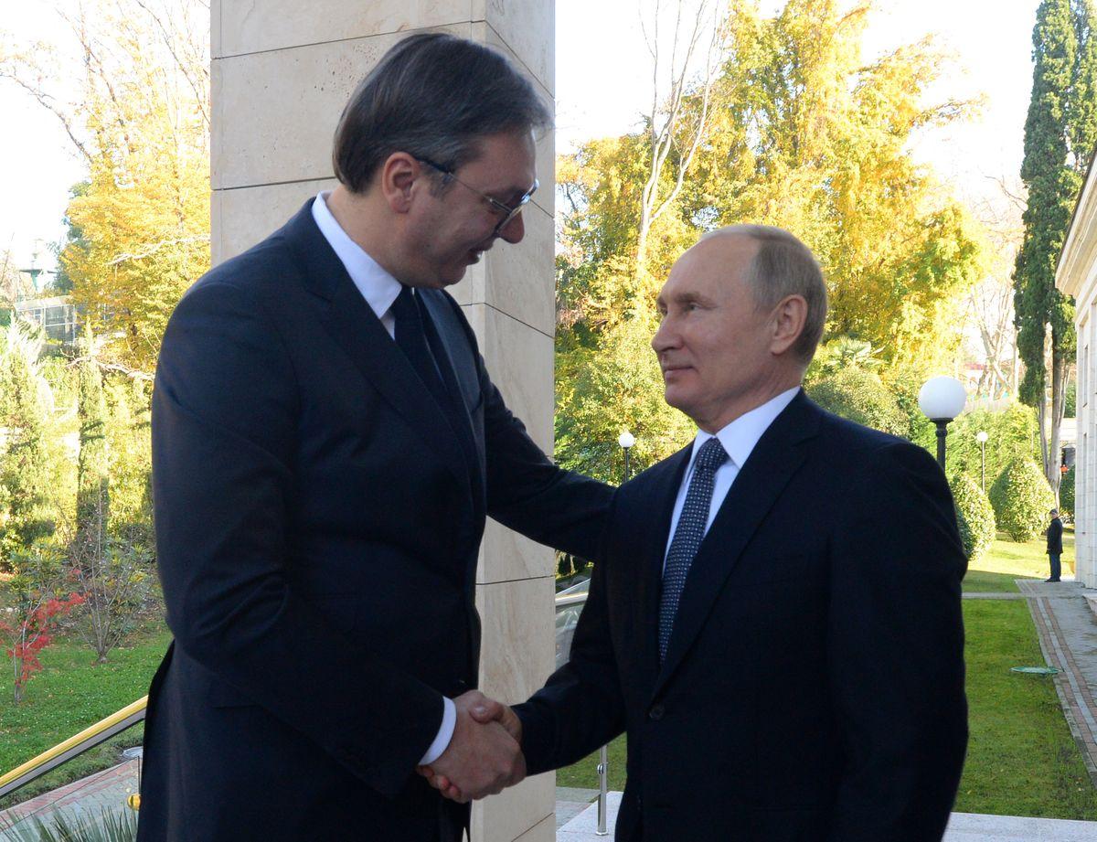 Председник Вучић у једнодневној посети Сочију