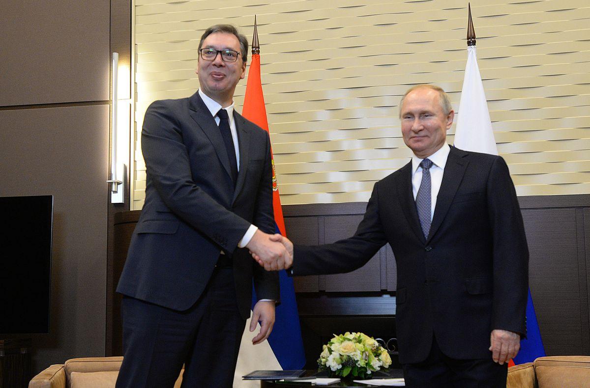 Predsednik Vučić u jednodnevnoj poseti Sočiju