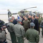Председник Вучић присуствовао презентацији нових хеликоптера Ми-35, Х-145М и Ми-17