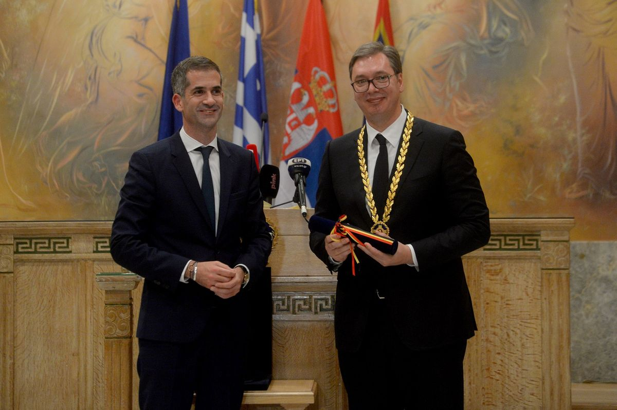 President Vučić on the official visit to the Hellenic Republic