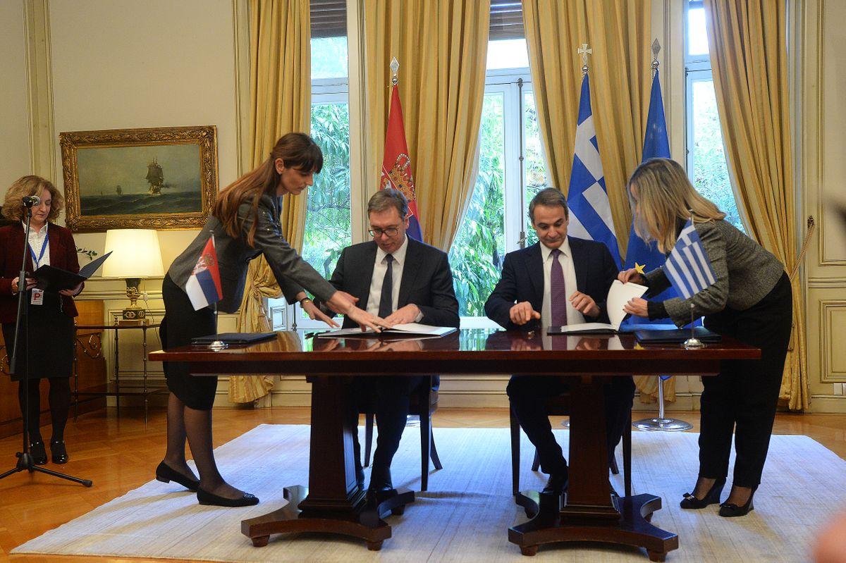 U Grčkoj potpisana deklaracija o strateškom partnerstvu dve zemlje