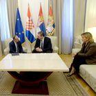 Oproštajna poseta ambasadora Republike Hrvatske