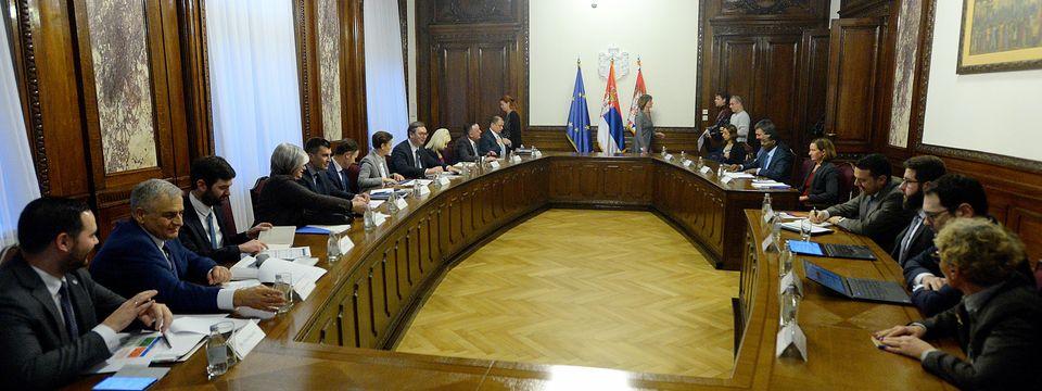 Састанак са регионалном директорком Светске банке за Западни Балкан, Европу и Централну Азију