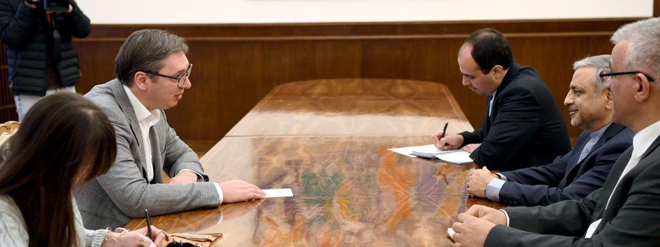 Опроштајна посета амбасадора Исламске Републике Иран