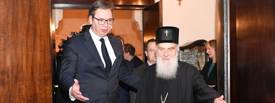 Sastanak u Srpskoj Patrijaršiji