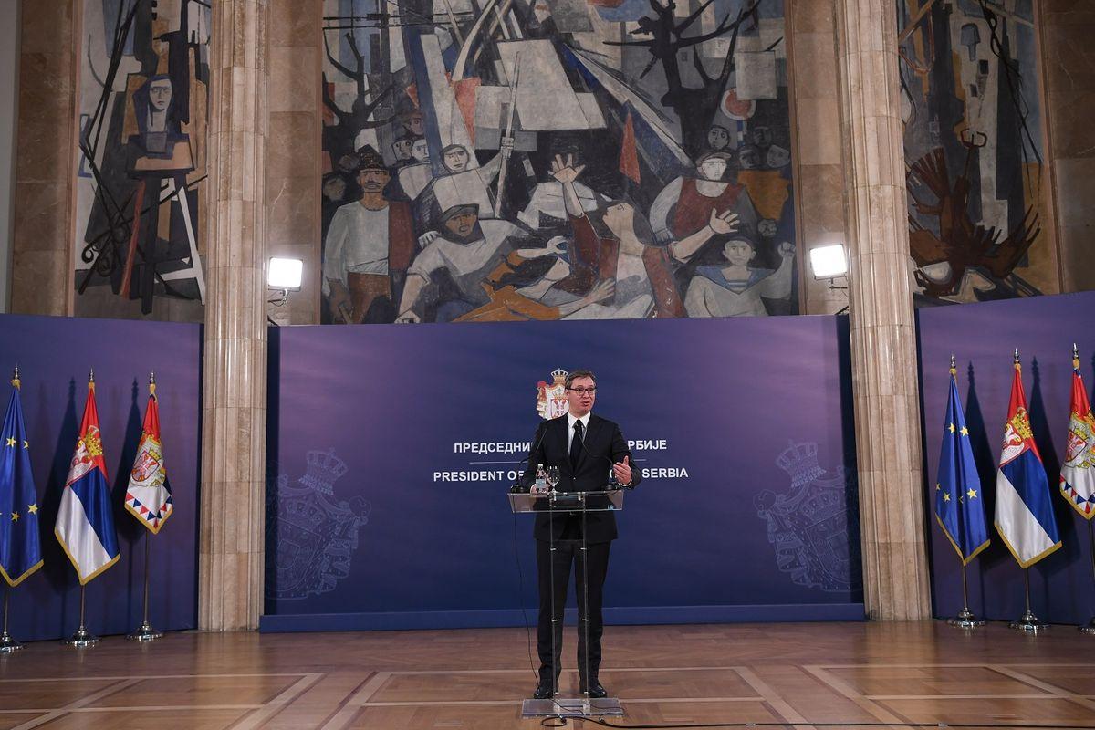 Obraćanje predsednika Republike Srbije nakon susreta sa Njegovom svetosti patrijarhom srpskim gospodinom Irinejom