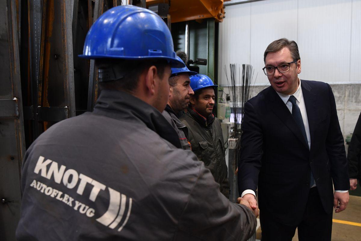 Svečano otvaranje novog pogona fabrike Knott Autoflex Uug d.o.o.