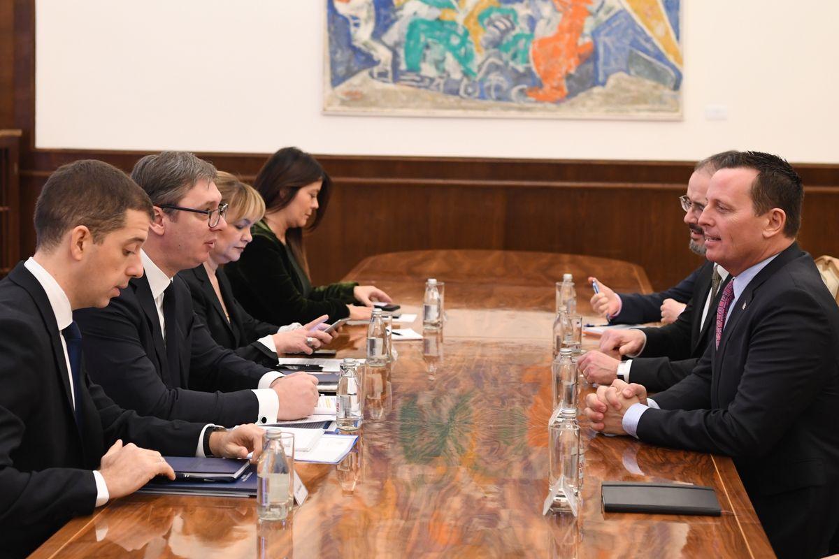 Састанак са специјалним изаслаником председника Доналда Трампа за дијалог Београда и Приштине
