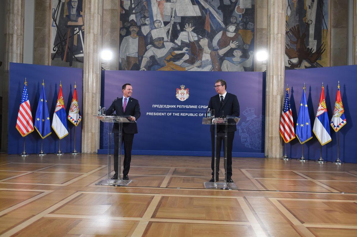 Састанак са специјалним изаслаником председника Доналда Трампа за дијалог Београда и Приштине Ричардом Гренелом