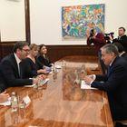 Састанак са министром спољних послова Републике Таџикистан