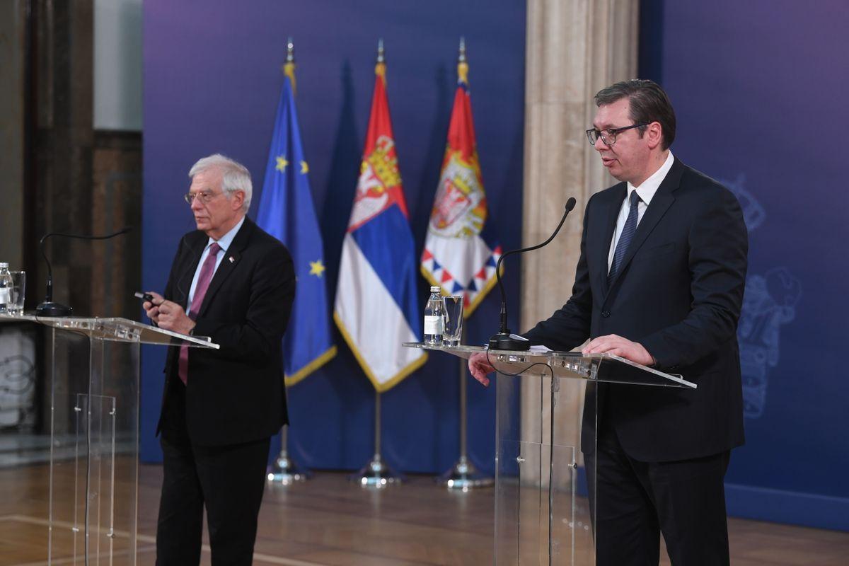 Sastanak sa visokim predstavnikom Evropske unije za spoljne poslove i bezbednosnu politiku