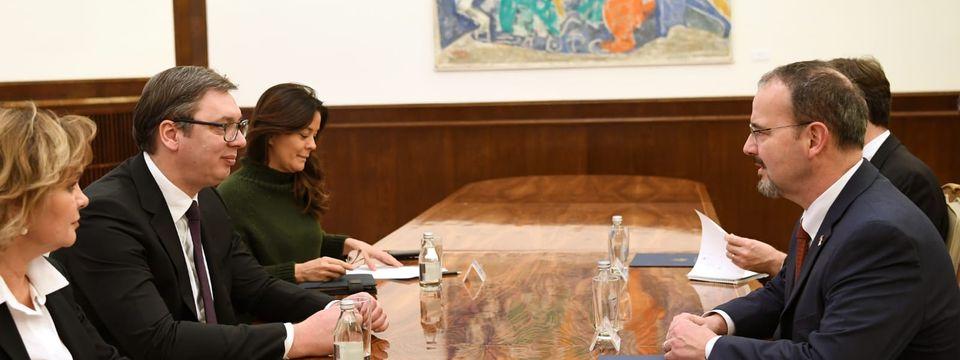 Састанак са амбасадором Сједињених Америчких Држава