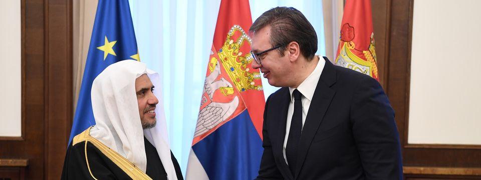 Sastanak sa generalnim sekretarom Muslimanske svetske lige