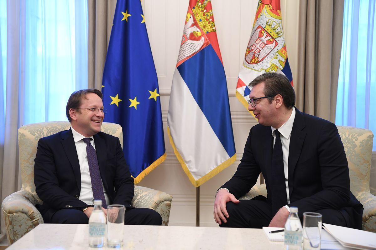 Sastanak sa evropskim komesarom za susedstvo i proširenje