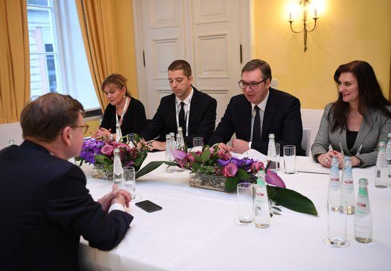 Председник Вучић на Минхенској безбедносној конференцији