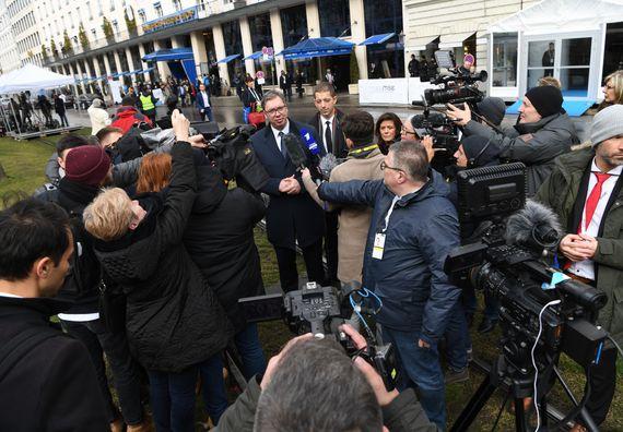 Predsednik Vučić na Minhenskoj bezbednosnoj konferenciji