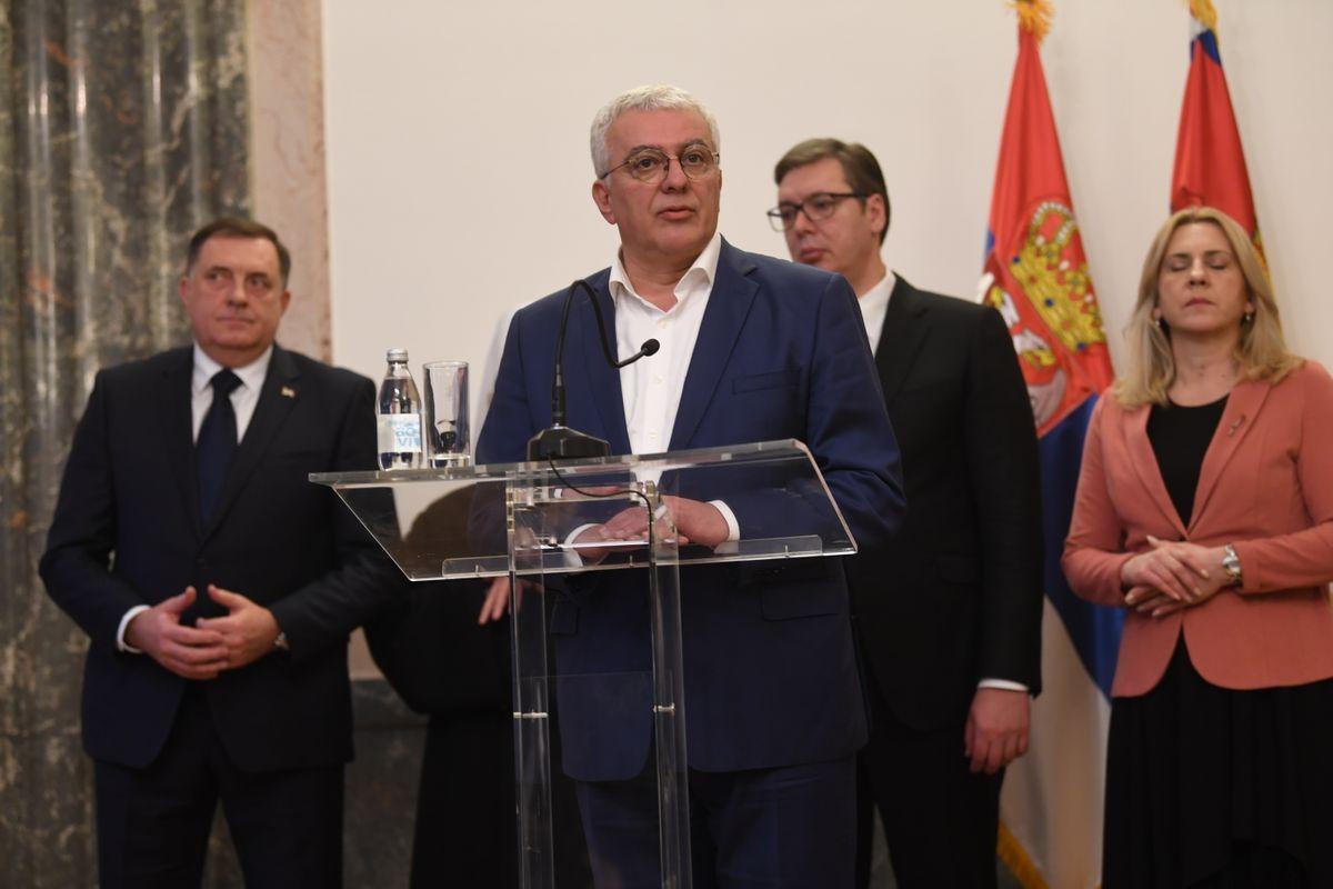 Sastanak sa predstavnicima Srba iz regiona