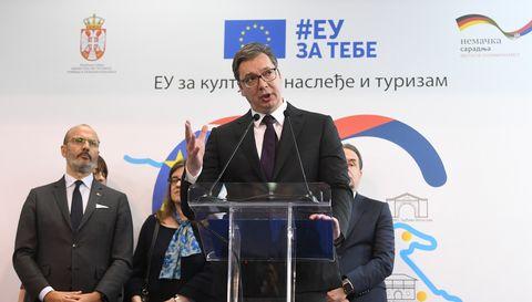 Председник Вучић присуствовао 42. Међународном београдском сајму туризма