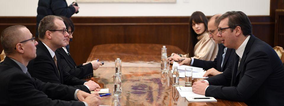 Састанак са директором Светске здравствене организације за Европу
