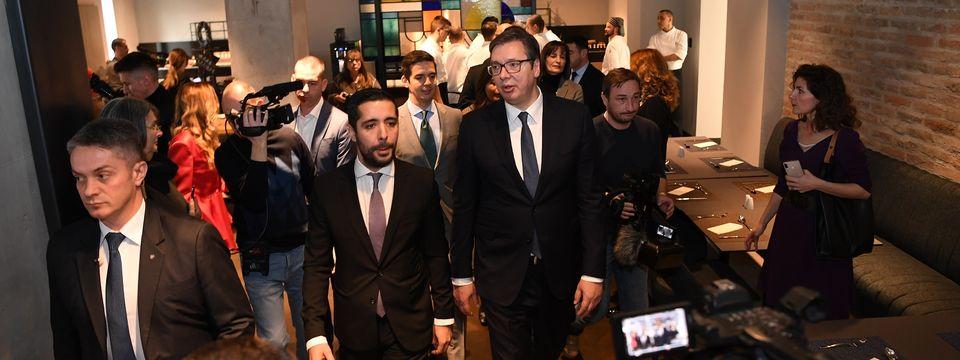 """Predsednik Vučić prisustvovao svečanom otvaranju hotela """"Mona Plaza"""""""