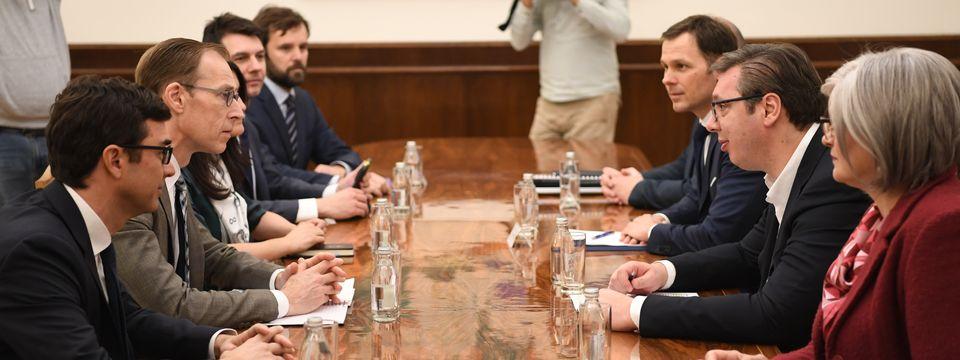 Sastanak sa delegacijom Međunarodnog monetarnog fonda