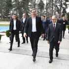 "Predsednik Vučić obišao nove pogone HK ""Krušik"" a.d. Valjevo"