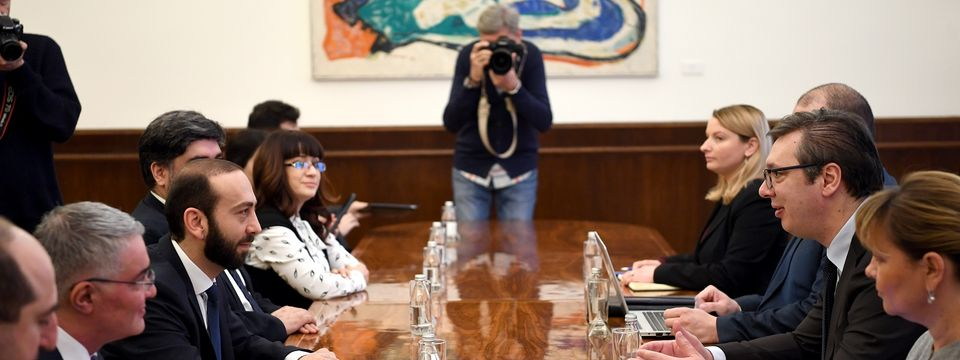 Sastanak sa predsednikom Narodne skupštine Republike Jermenije