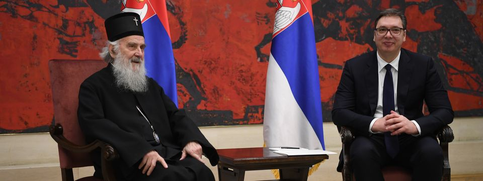 Sastanak sa Njegovom svetošću patrijarhom srpskim gospodinom Irinejem
