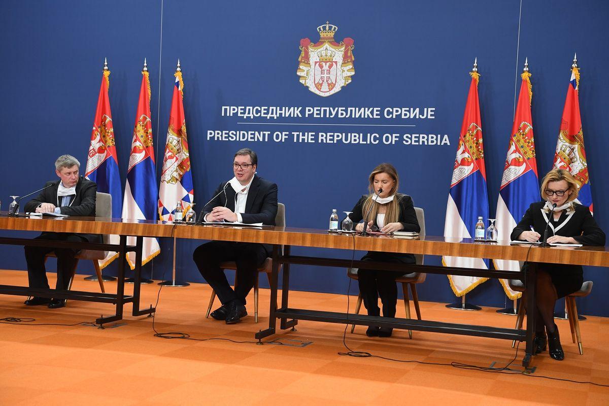 Обраћање председника Вучића 21.03.2020.