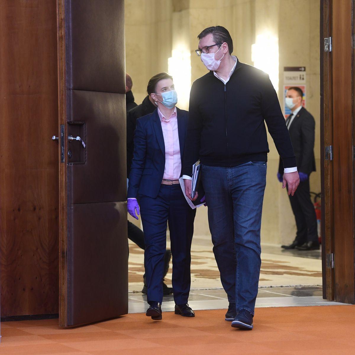 Obraćanje predsednika Vučića 27.03.2020.