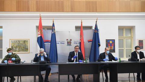 Председник Вучић посетио Ниш