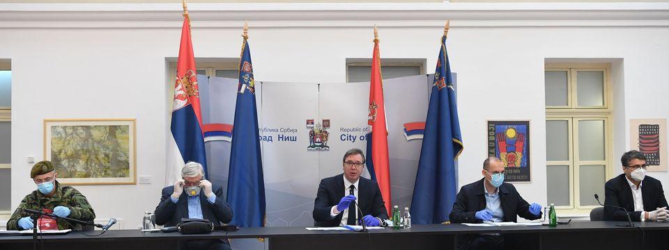 Predsednik Vučić posetio Niš