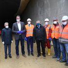 Predsednik Vučić obišao radove na izgradnji brze pruge Beograd-Budimpešta