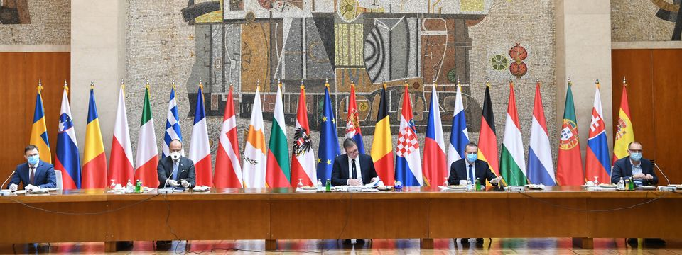 Sastanak sa ambasadorima zemalja članica Evropske unije