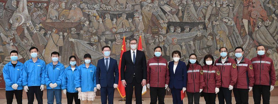 Sastanak sa ambasadorkom NR Kine i timom kineskih lekara
