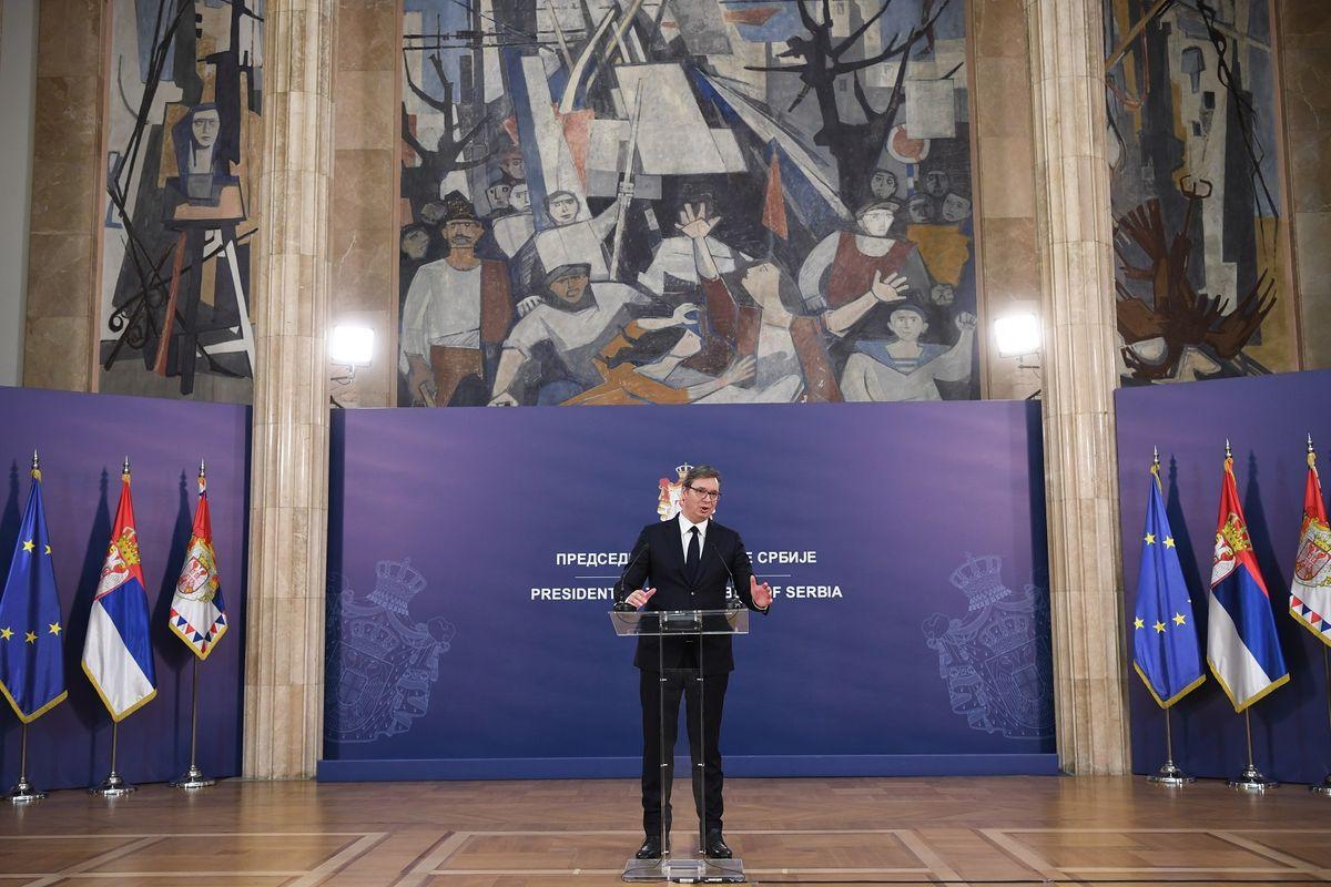 Обраћање председника Републике Србије 11.05.2020.