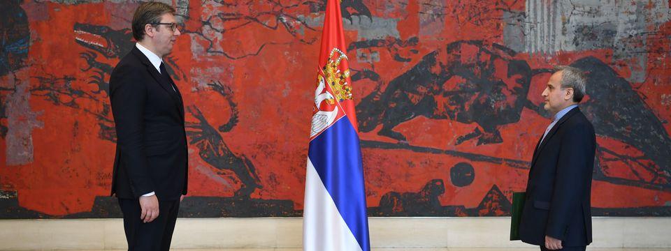 Predsednik Vučić primio akreditivna pisma novoimenovanog ambasadora Islamske Republike Iran