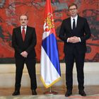 Predsednik Vučić primio je akreditivna pisma novog ambasadora Republike Hrvatske