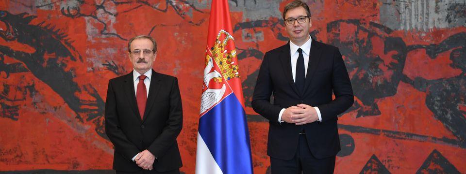 Председник Вучић примио је акредитивна писма новог амбасадора Републике Хрватске