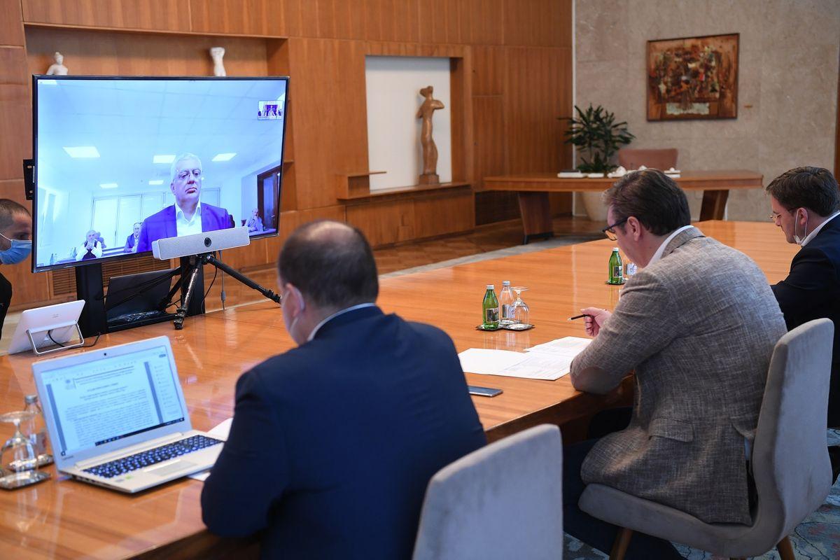 Конференцијски састанак са представницима српских политичких, културних и интелектуалних кругова из Црне Горе