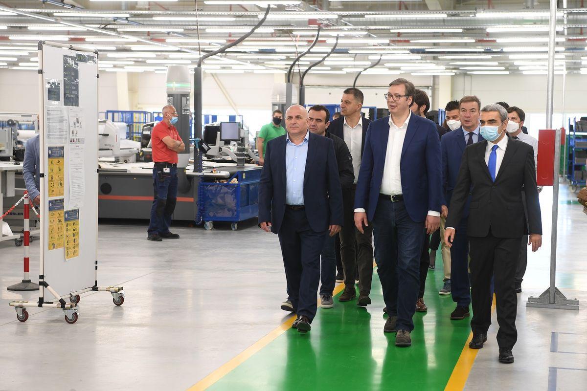 Predsednik Vučić posetio Loznicu