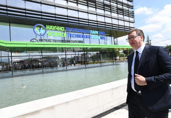 Председник Вучић отворио Научно технолошки парк у Нишу