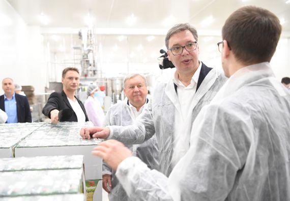 Председник Вучић посетио Пожегу