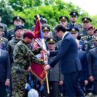 Predsednik Vučić uručio vojne zastave brigadama Vojske Srbije