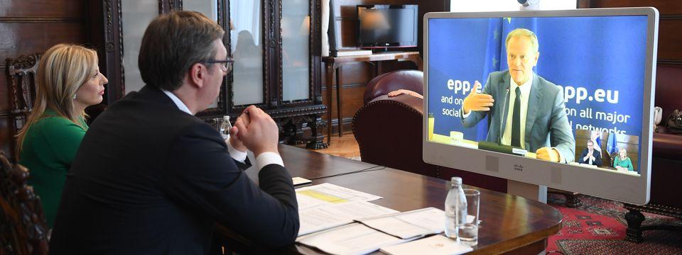 Разговор са председником Европске народне партије
