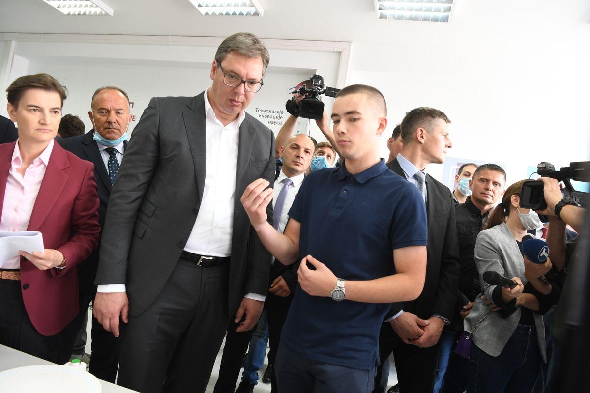 Председник Вучић посетио Чачак