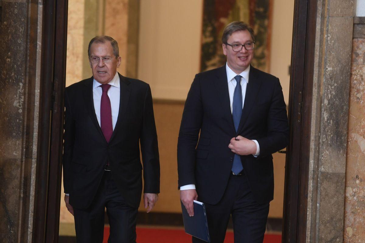 Sastanak sa ministrom spoljnih poslova Ruske Federacije